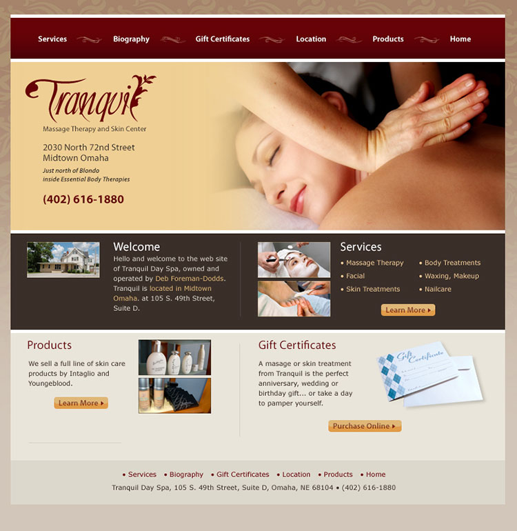 Tranqui Massage Therapy and Skin Center